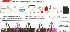 Labour Hospital Bag for Pregnant Women Checklist
