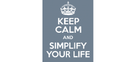 Simplify Your Life Checklist